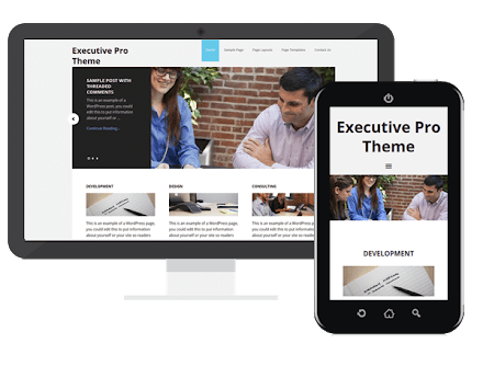 executive pro theme review