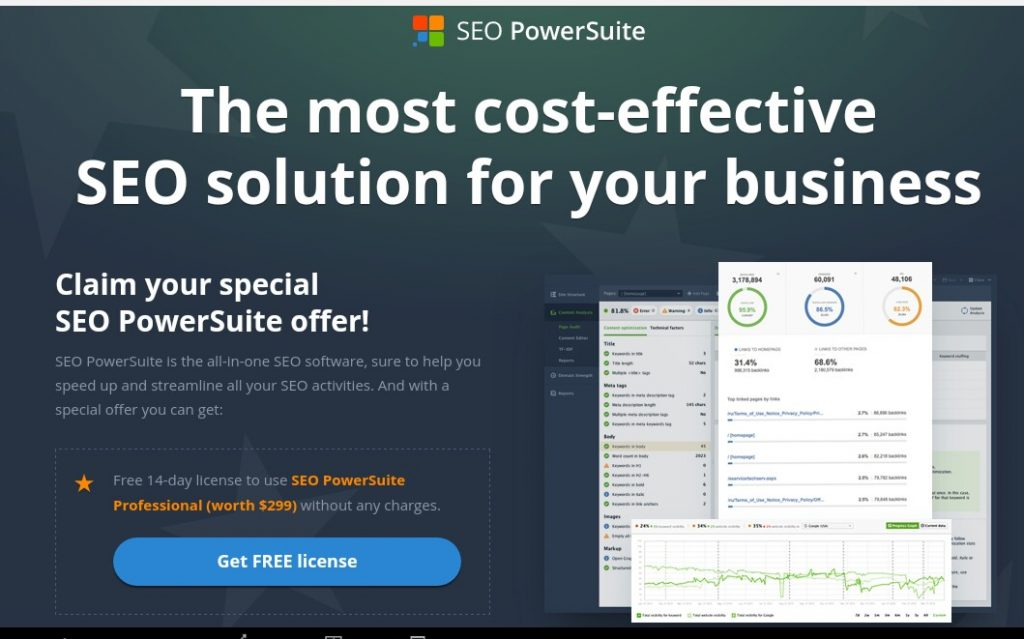 Seo powersuite full professional license