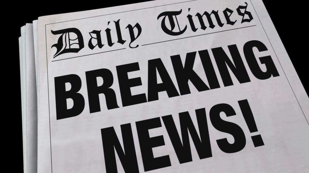 headline news paper