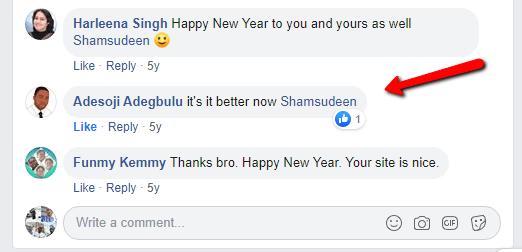 Facebook conversation from Adesoji Adegbolu