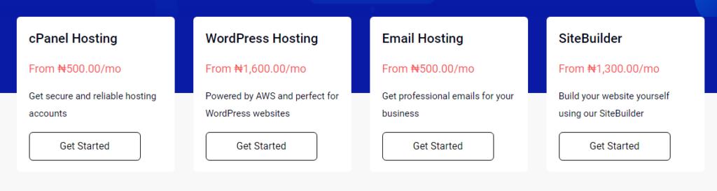 whogohost web hosting plans