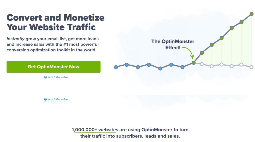 optin monster - lead generation WordPress plugin