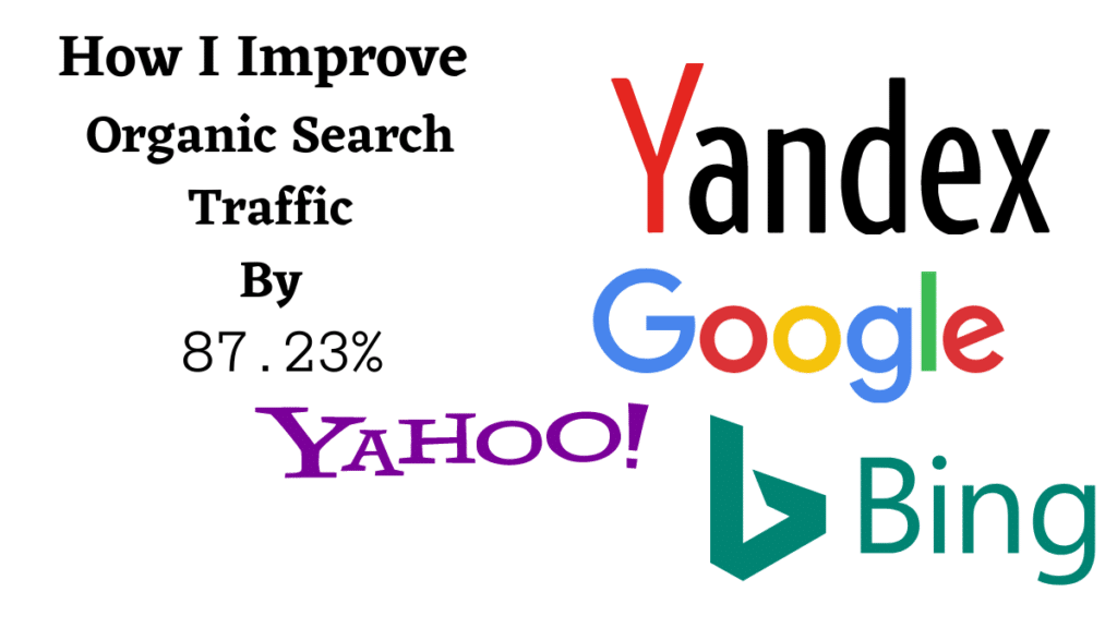 improve organic search traffic post featured image