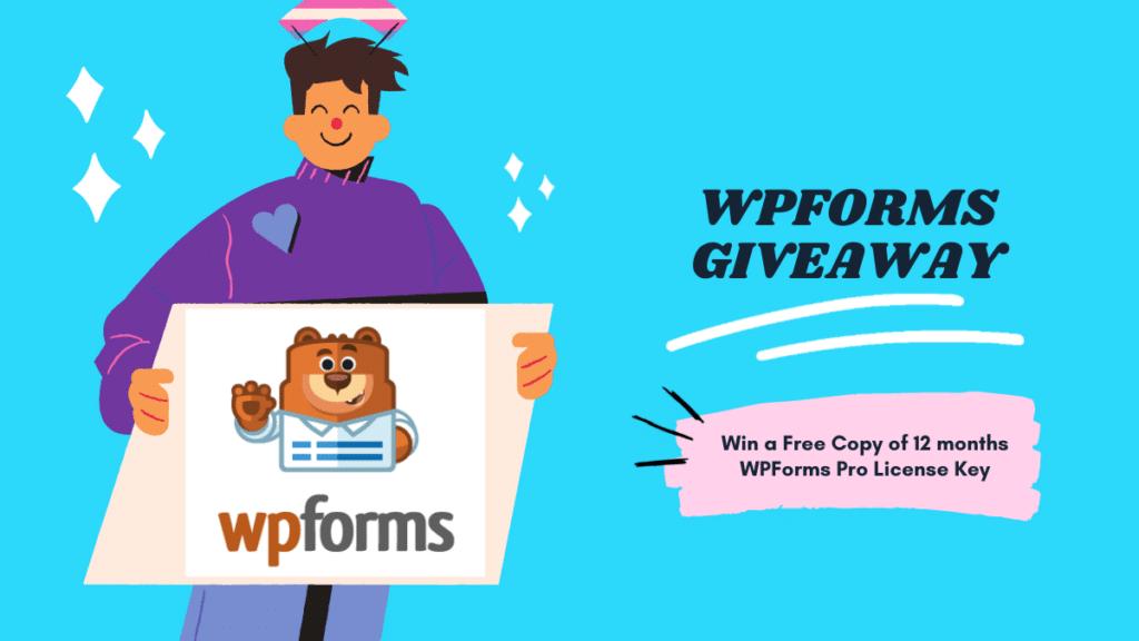 wpforms giveaway pro license key