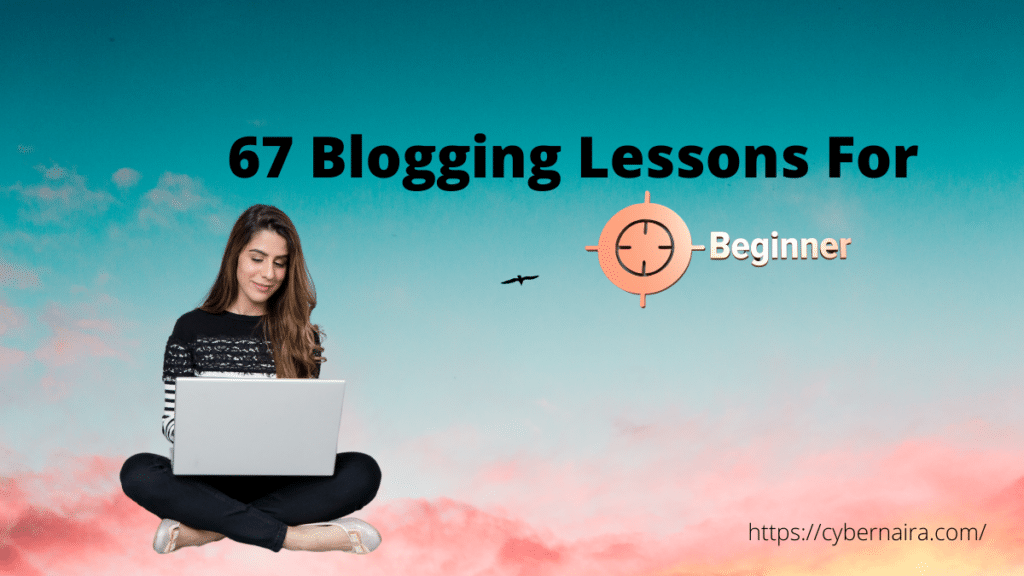 blogging for beginners blog post featured image