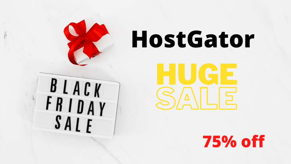 HostGator Black Friday Post featured image