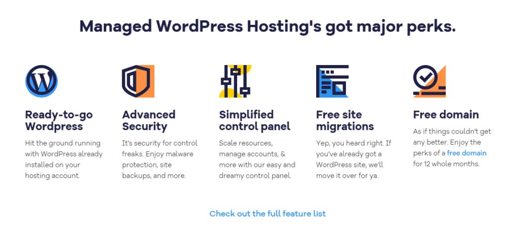 HostGator Managed WordPress Hosting Features