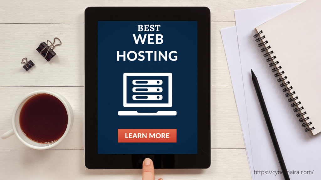 The blog post - best web hosting for beginners featured image
