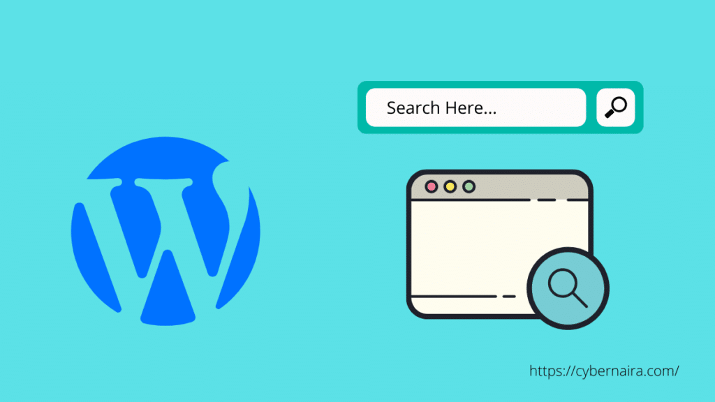 featured image - how to add search bar to WordPress
