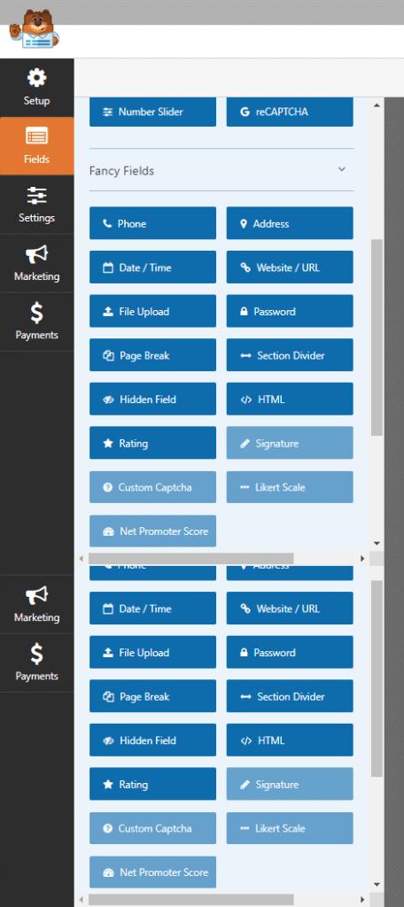 WPForms Settings Page
