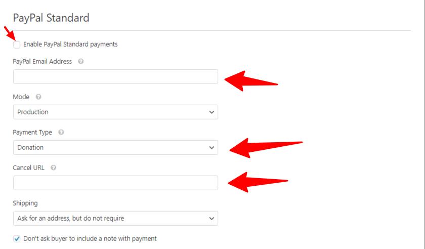 PayPal Standard Field in WPForms